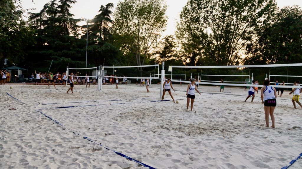 Active Beach Arena gallery campi overview